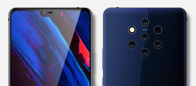 Without notch! New photos show supposed design and curved screen of Nokia 9