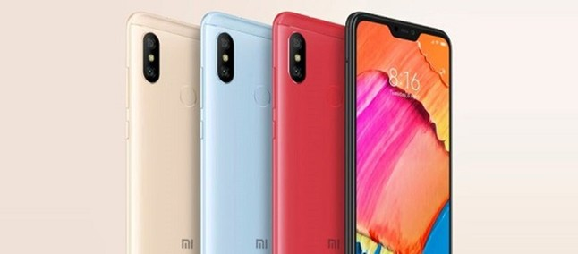 Xiaomi Redmi Note 6 and Redmi 6 Plus screens appear on the AliExpress site