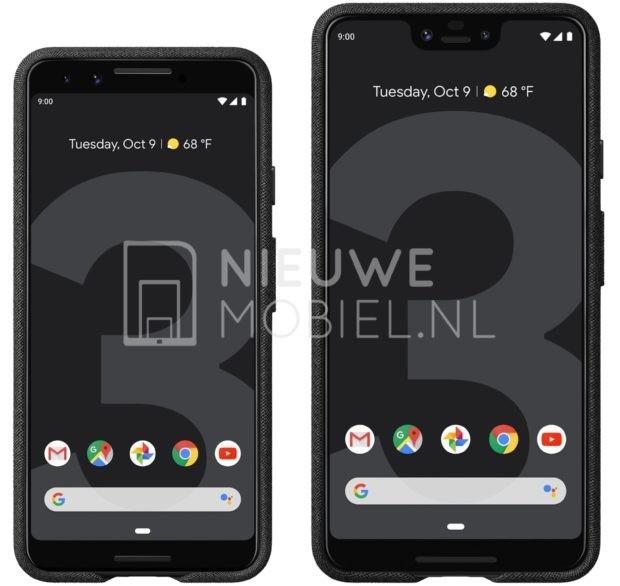 Mais vazamentos! Google Pixel 3 e 3 XL aparecem em imagens oficiais
