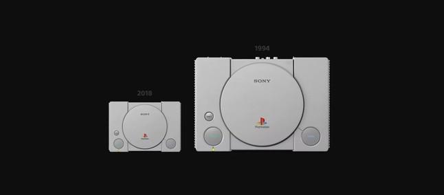f6032d5bf47 Sony irá relançar PlayStation 1 em formato mini com 20 jogos