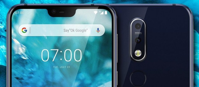 With notch! Nokia X7 has more design details revealed in rendering