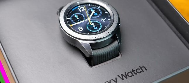 6a980736af6 Galaxy Watch 4G é contemplado com nova atualização de firmware ...