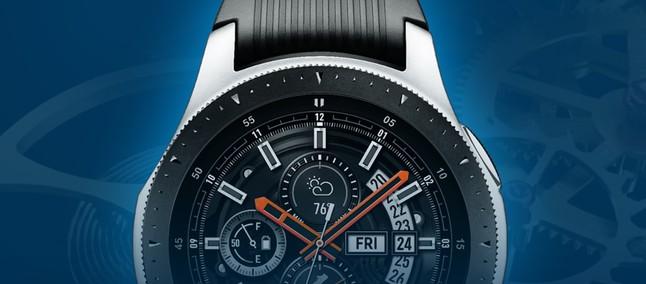 e48b03a0411 Smartwatch híbrido da Samsung surge em patente com tela circular ...