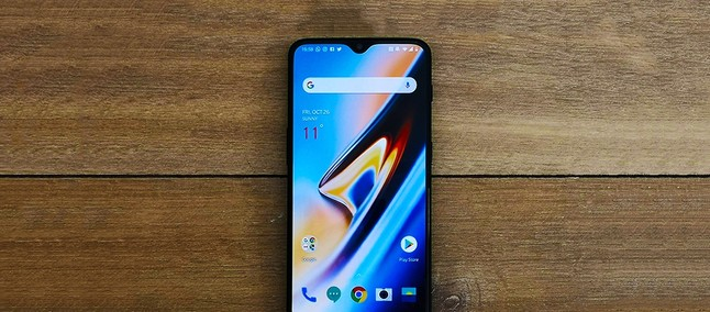 But already? OnePlus 6T receives its first update and gains new features