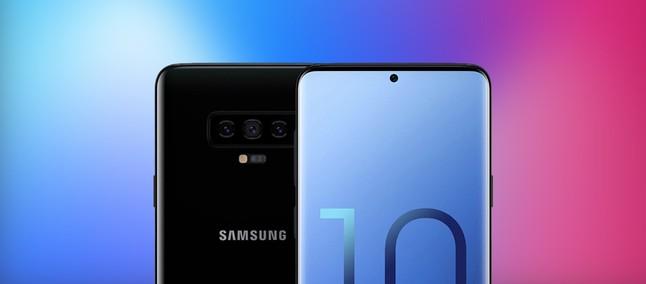 33c56631d67 Linha Galaxy S10 tem possíveis tamanhos de tela, modelos e visuais  divulgados