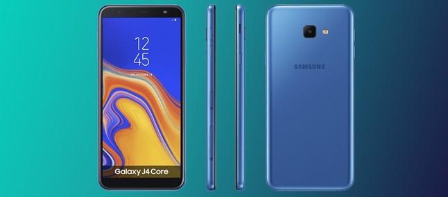a5e3e0ae1e Com Android Go  Samsung lança Galaxy J4 Core e J2 Core no Brasil ...