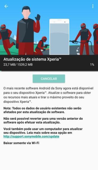 Xperia XZ Premium começa a receber Android 9 Pie no Brasil