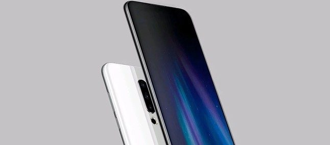 Meizu 16s concept displays rear triple camera, screen without notch and without front camera visible
