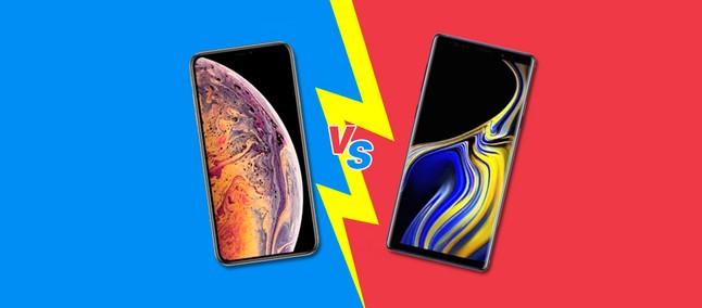 iPhone XS Max vs Galaxy Note 9  qual top de linha vale mais o pesado  investimento  0355104237