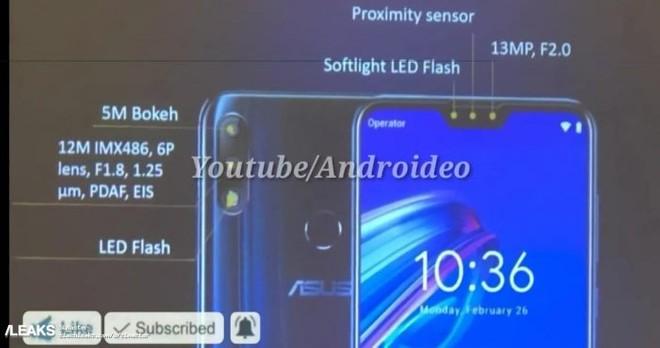 3e60f628e27 ASUS Zenfone Max Pro M2  especificações técnicas completas são ...