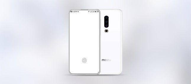 Meizu 16S comes with borderless screen, circular notch and triple rear camera in supposed render