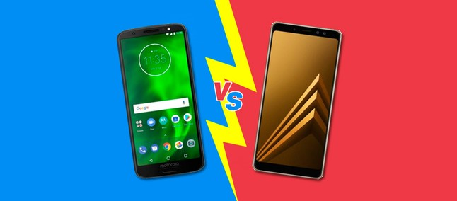 65ac300394153 Moto G6 Plus vs Galaxy A8 Plus: vale a pena gastar mais em um intermediário  premium?