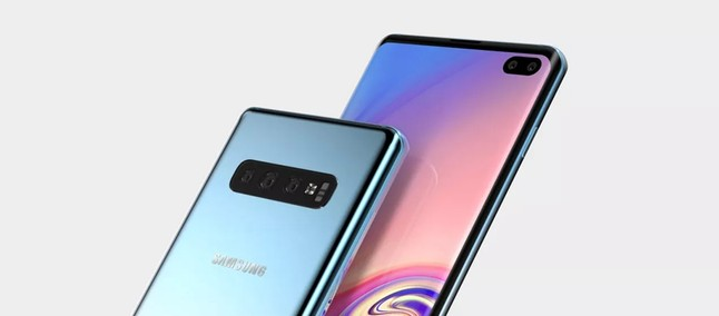 Galaxy S10 Plus: high quality renders reveal the possible final design of the device