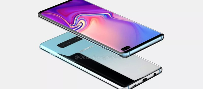 Samsung Galaxy S10 Plus has protective glass leaked reiterating renderings