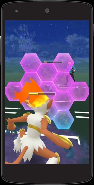 d9849a16cb Caso queira lutar com um novo player que encontrou nas suas andanças em  busca de pokéstops