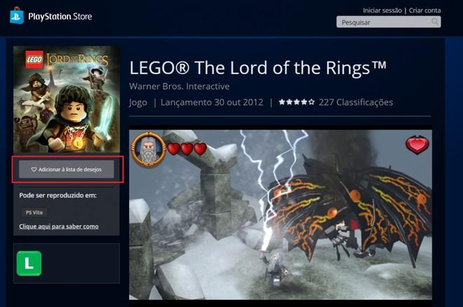 Você não comprará! LEGO Senhor dos Anéis são removidos das lojas de