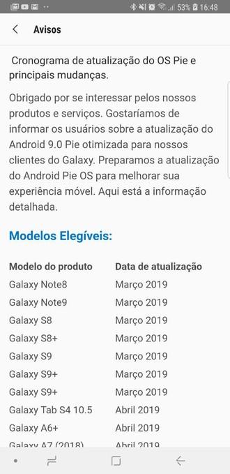Samsung revela oficialmente data de disponibilidade do