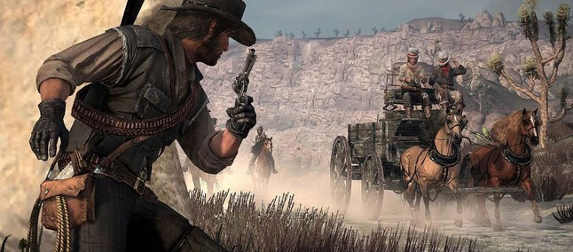 It was awesome! Red Dead Redemption now works on the Xbox 360 Xenia