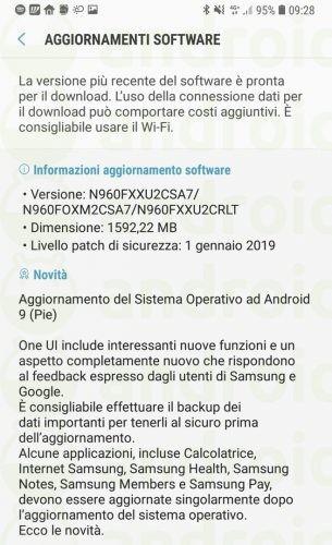 E o Brasil? Samsung Galaxy Note 9 recebe Android Pie em mais um