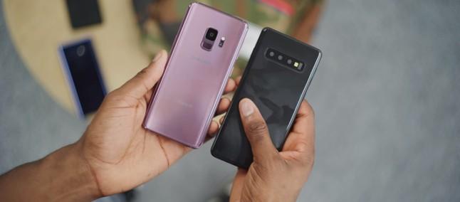 135dcb8c10e Hora da verdade! Galaxy S10 e S10 Plus enfrentam Galaxy S9 e S9 Plus em  comparativo