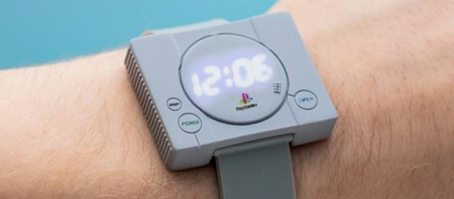 bc0100eddbe Sony anuncia relógio que revive visual do PlayStation clássico e a sua  infância