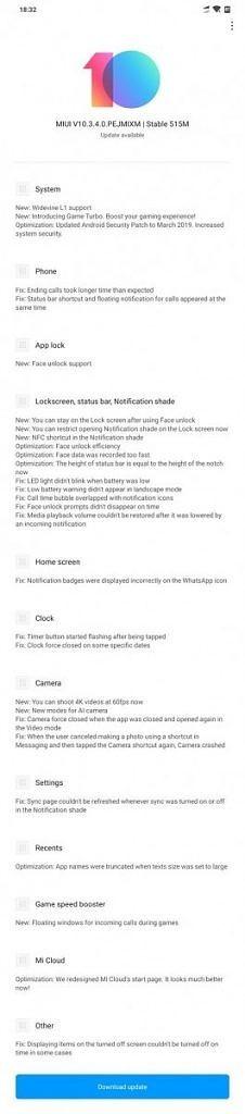Pocophone F1 ganha gravação 4K a 60 FPS e outros recursos na