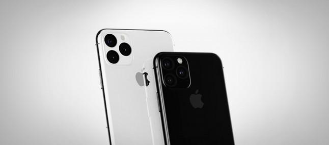 56fe890a8 iPhone XI: novo conceito reforça painel frontal reciclado e câmeras  traseiras desalinhadas