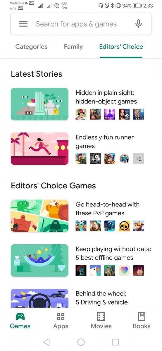Google começa a liberar nova Play Store com mudanças no