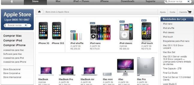 Apple Store chega ao Brasil, mas sem iPhone - Tudocelular com