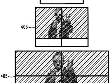 Patente da Motorola para múltiplas telas para criar uma