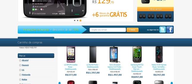 70341da254 Loja online da Fluent Celular é lançada no Brasil - Tudocelular.com