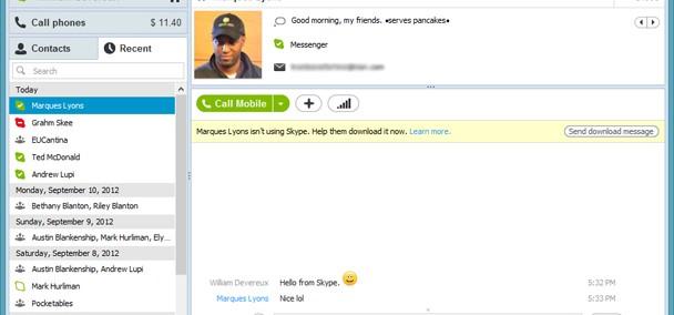 skype ganhará nova interface e integração com o msn messenger