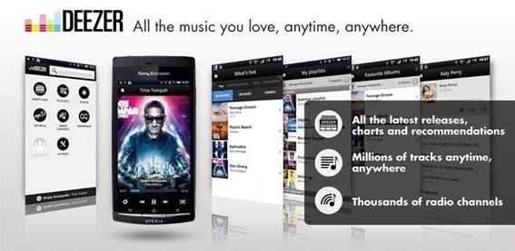 musica deezer iphone