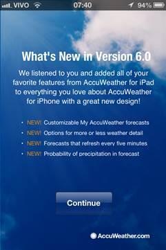 AccuWeather - iOS - Tudocelular com