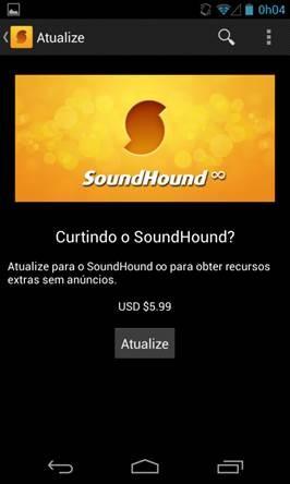SoundHound - Android - Tudocelular com