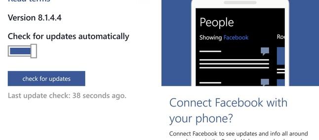 facebook for windows phone 8 1