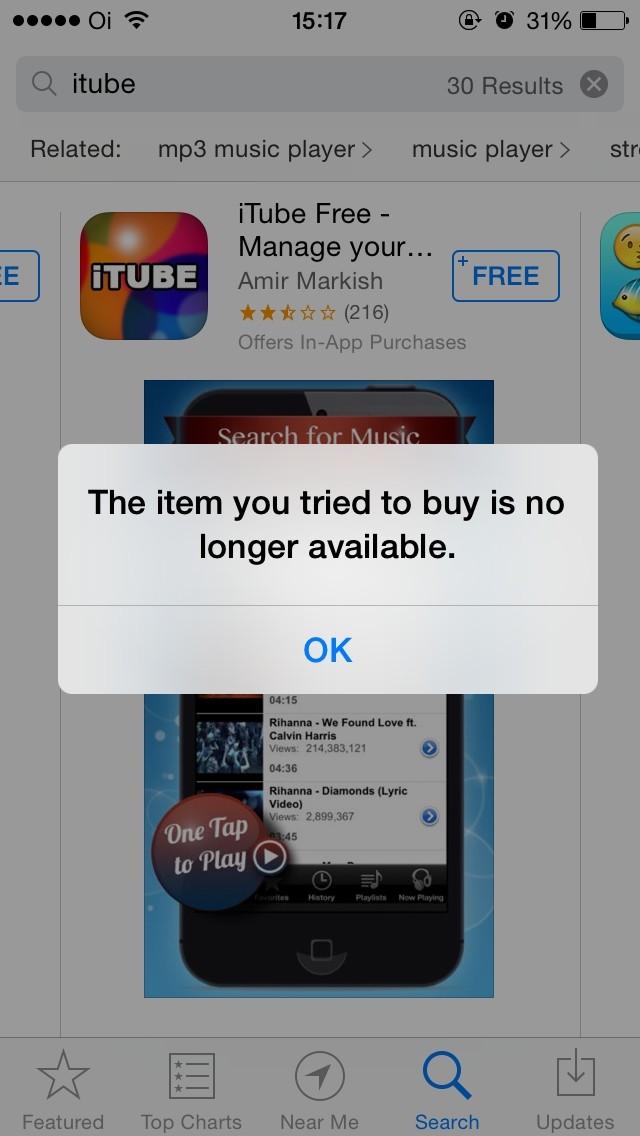 Aplicativo iTube, para assistir vídeos do YouTube offline, é