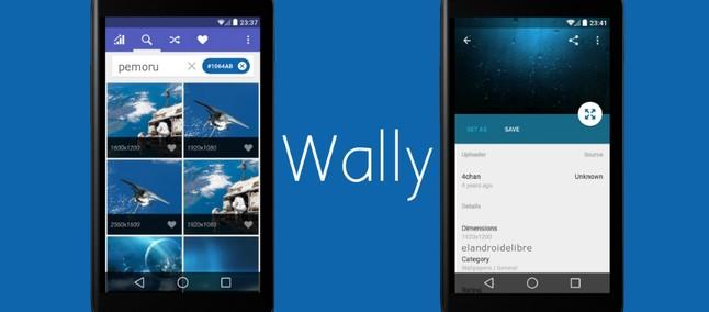 Wally é um aplicativo com Material Design que permite o