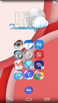 Nano Icons Theme traz um visual novo e original para o seu